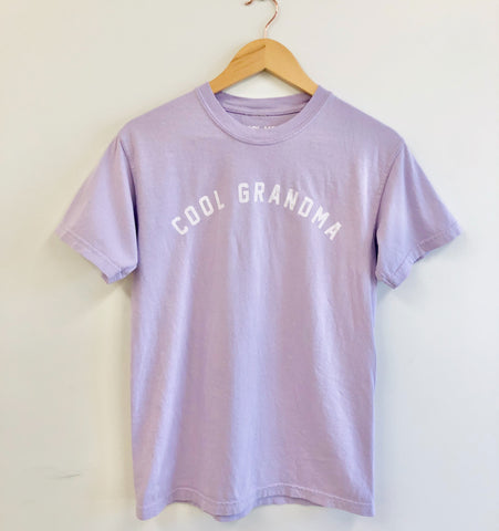 COOL GRANDMA Relaxed Fit Unisex Tee - Orchid