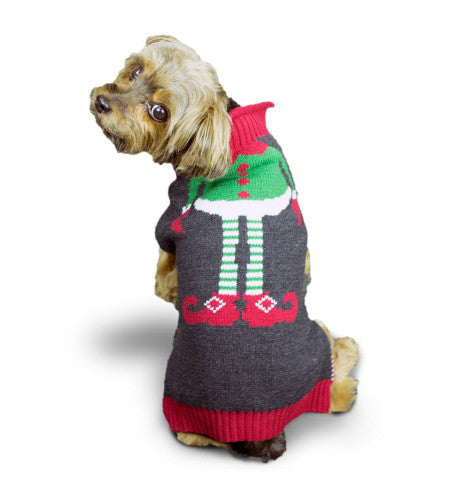Ugly Christmas Dog Sweater - Elf