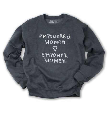 EMPOWERED WOMEN Pullover Sweatshirt