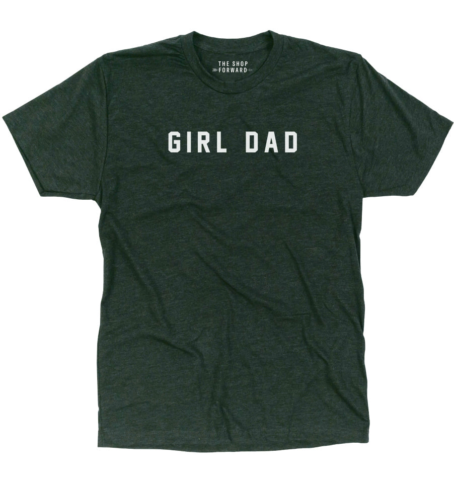 GIRL DAD T-Shirt - Black