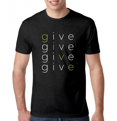 'GIVE' givetwig T-Shirt