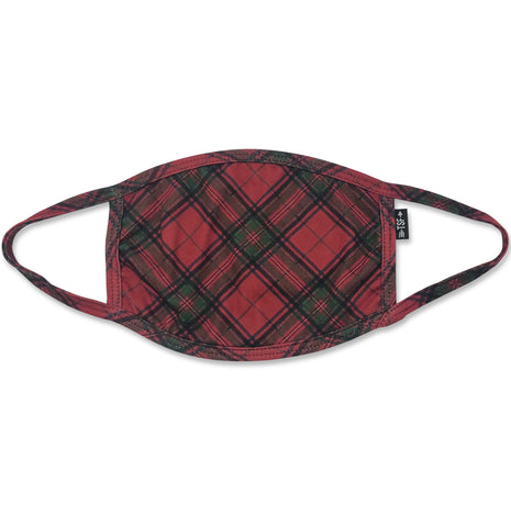 Cloth Face Mask - Red Plaid