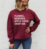 4 THINGS® Fall Pullover - Maroon