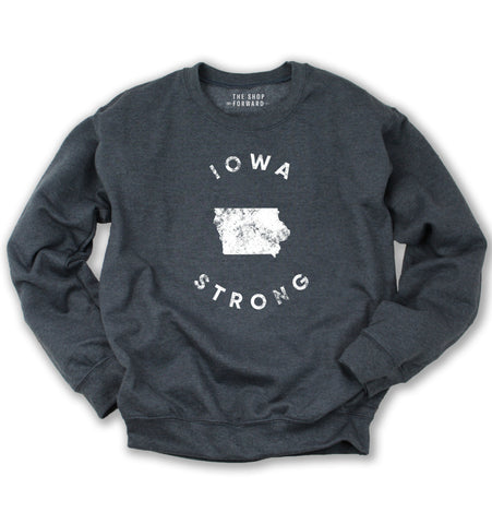 IOWA STRONG Unisex Fleece Pullover