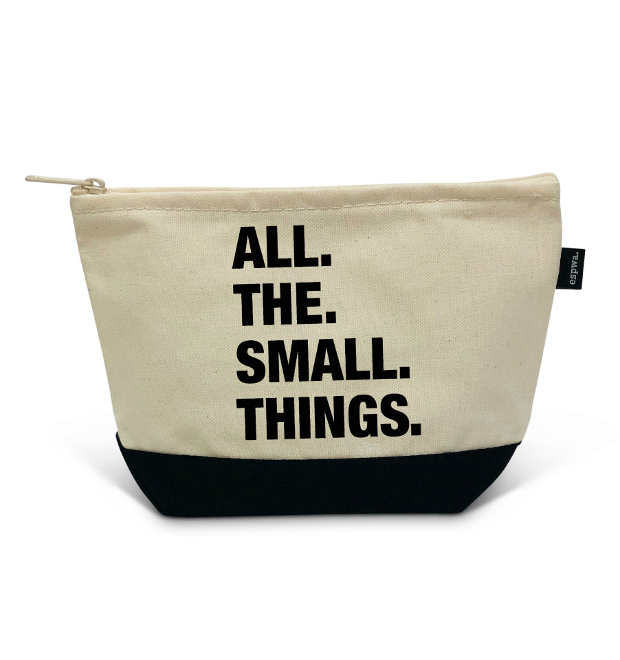 "4 THINGS® ''SMALL THINGS"" Zipper Pouch"