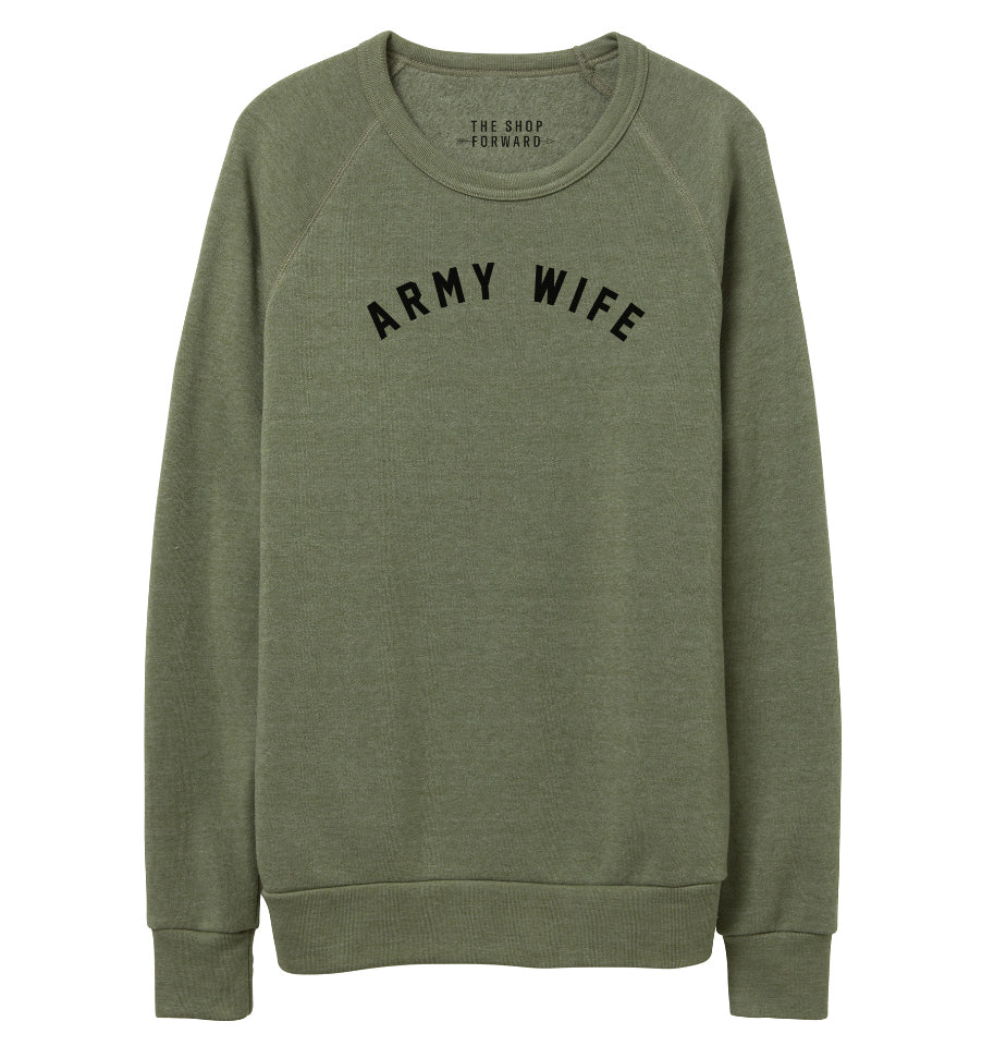 ARMY WIFE Pullover Sweatshirt
