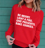4 THINGS® 'Christmas Goals' Lightweight Pullover