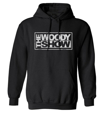 The Woody Show Logo Hoodie - Black