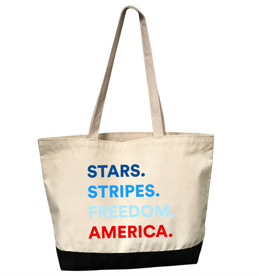 4 THINGS® Patriotic Tote