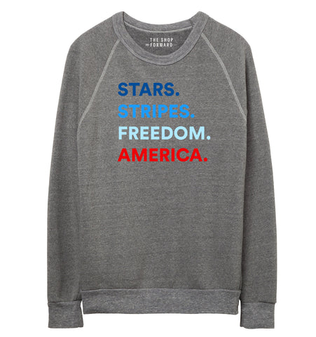 4 THINGS® Patriotic Unisex Pullover