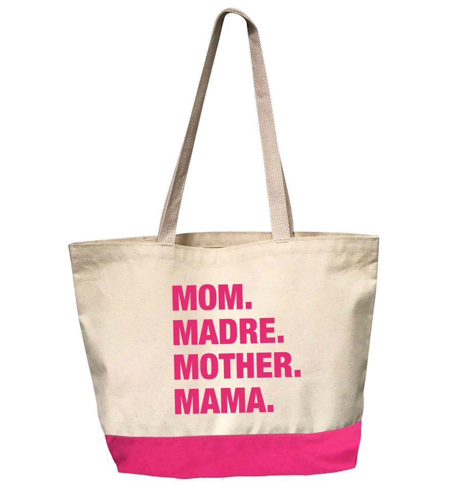 4 Things® DEAR MAMA Tote - PINK EDITION