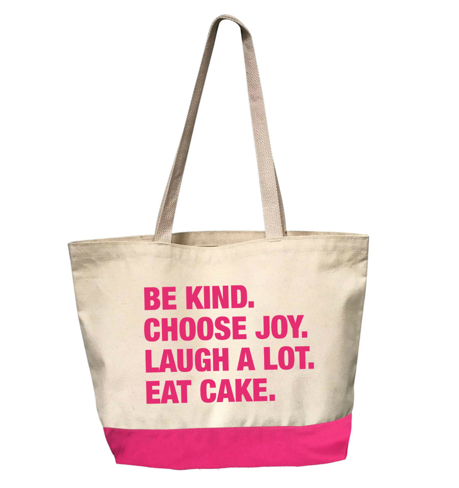 4 Things® JOY SEEKER Tote - PINK EDITION