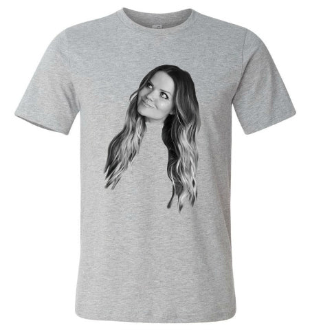 Amy Brown Face Tee - Benefiting Orphanage in Haiti