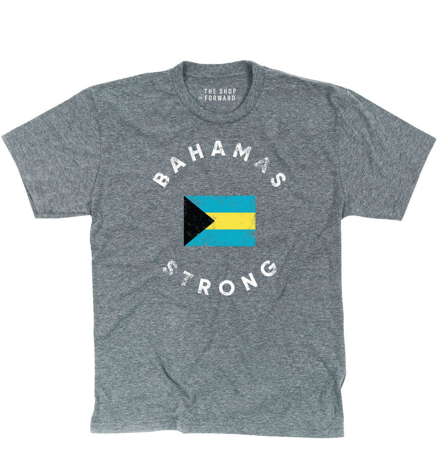 BAHAMAS STRONG Unisex T-Shirt for Hurricane Dorian Relief