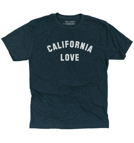 CALIFORNIA LOVE Unisex T-Shirt - Indigo