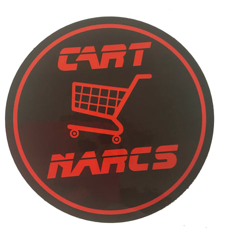 The Woody Show 'CART NARCS' Sticker