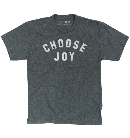 CHOOSE JOY Adult Unisex Tee - Grey