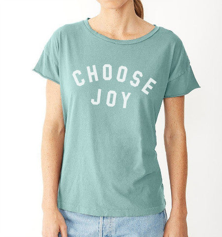 'Choose Joy' Women's Tee - Jade