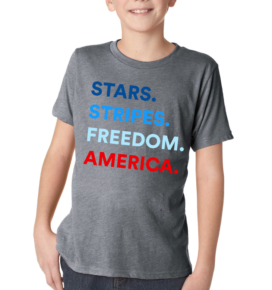 4 THINGS® Patriotic Kids T-Shirt