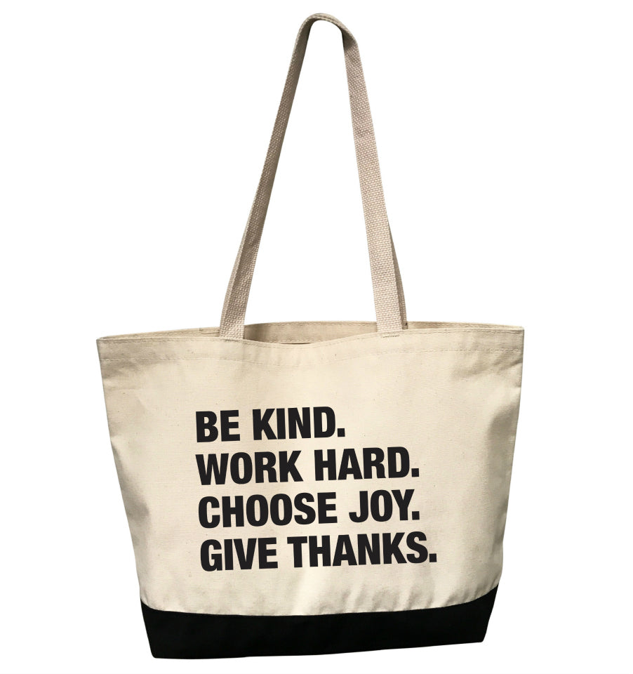 4 THINGS® 'Life Goals' Tote Bag