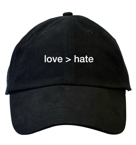 love > hate Dad hat
