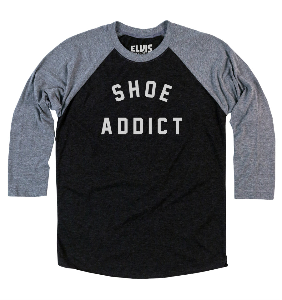 Danielle's 'SHOE ADDICT' Unisex Baseball T-Shirt