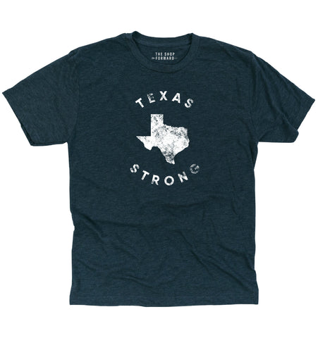 TEXAS STRONG Unisex T-Shirt - Navy