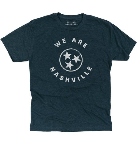 WE ARE NASHVILLE Unisex T-Shirt - Navy Heather