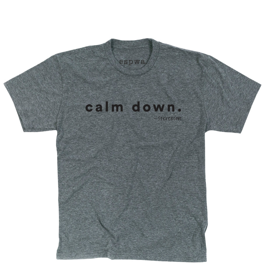 'Calm Down' T-Shirt - Adult