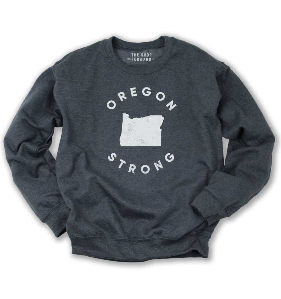 OREGON STRONG Unisex Fleece Pullover