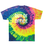 OUT OF OFFICE Unisex Neon Tie Dye T-Shirt