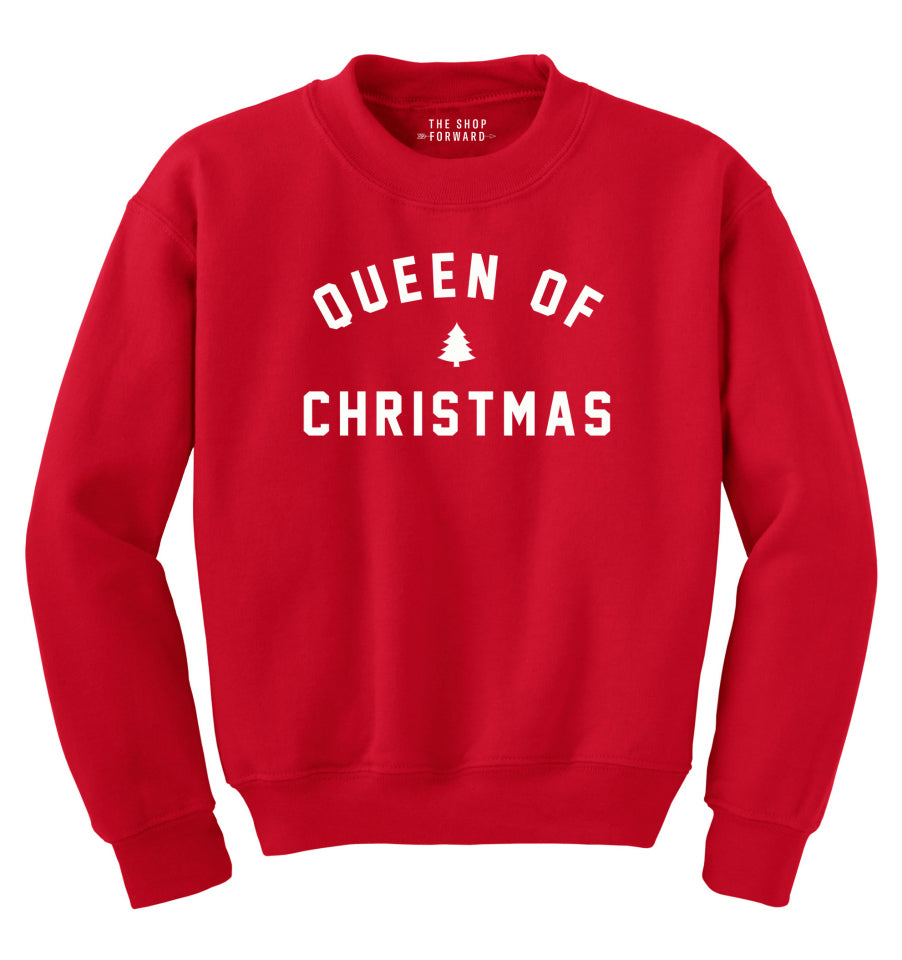 QUEEN OF CHRISTMAS Fleece Sweatshirt