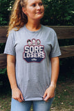 SORE LOSERS Unisex T-Shirt - Grey