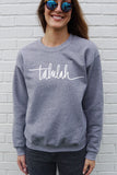 Talulah Unisex Grey Pullover
