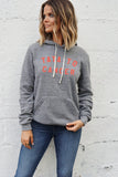 Tata to Cancer Unisex Hoodie - Grey