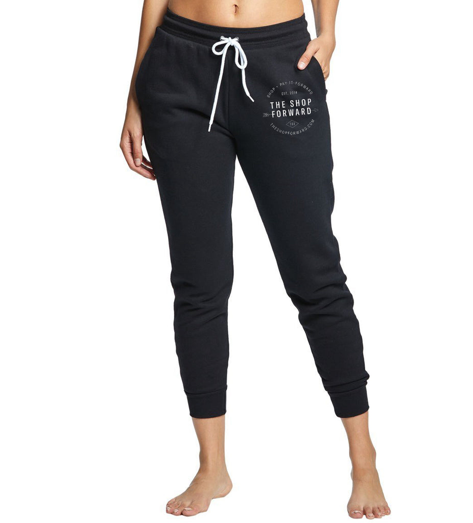 TSF Logo Jogger Sweatpants - Black