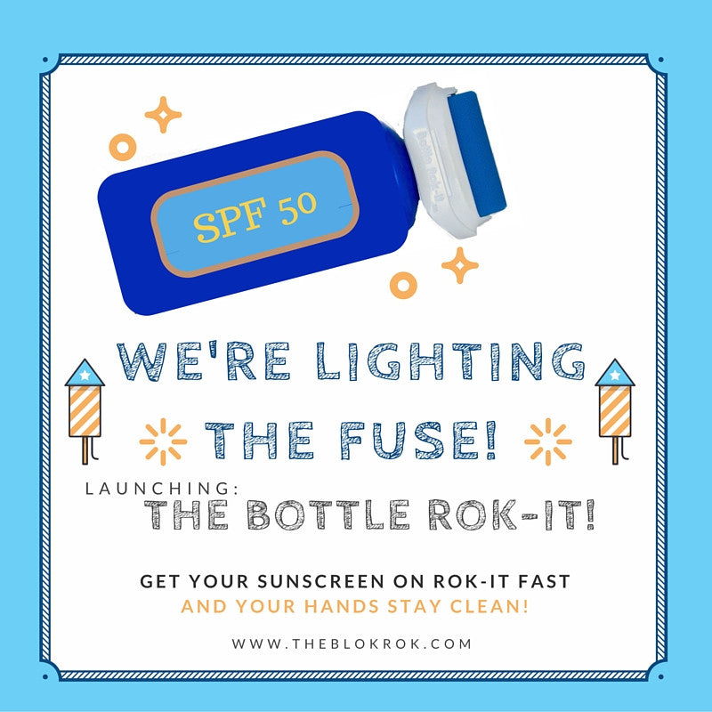 Lighting The Fuse On The Bottle Rok-it!