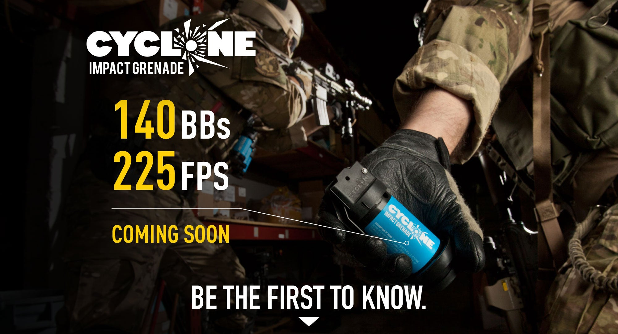 Airsoft Innovations' announces new and improved airsoft grenade