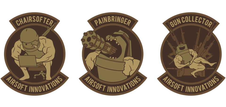 3x Limited Morale Patches