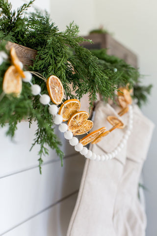 Mini White Berry Garland