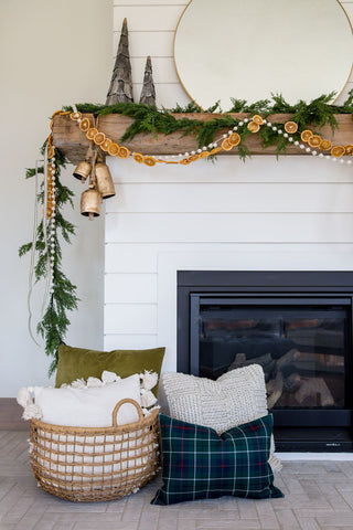Deluxe Artificial Cedar Garland