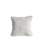 Cream Wool Knit Pillow Cover