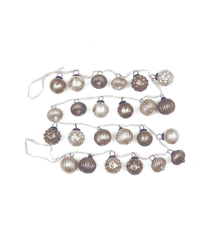 Glass Ornament Garland
