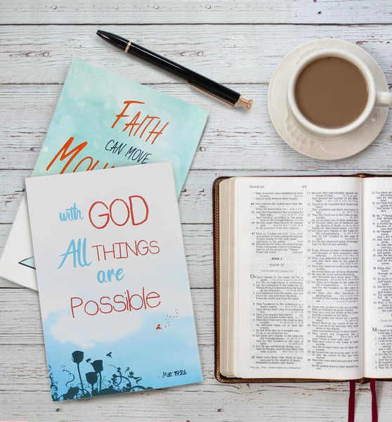 Inspirational Bible Verse Cards - 36 cards