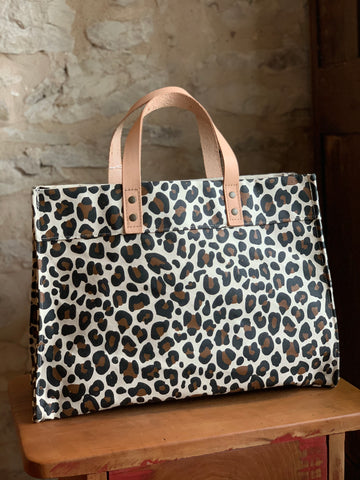 Hand Painted Tote (Cheetah)