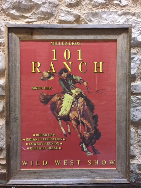 Framed Rodeo Posters Blue Star Trading