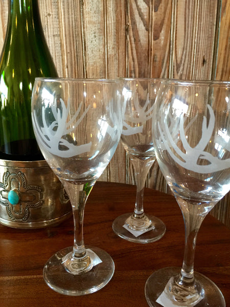 Antler Wine Glasses
