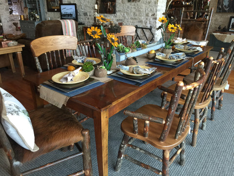 Farm House Table- Cherrywood