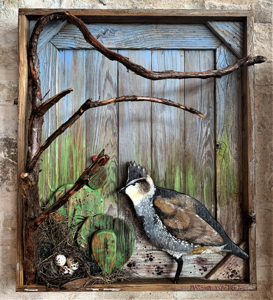 Quail Nest -Marsha Waits Art