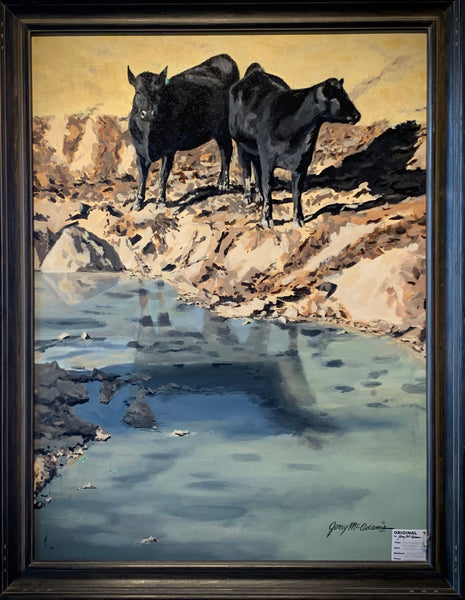"""Shallow Water near Fairy, Texas""-Jerry McAdams"